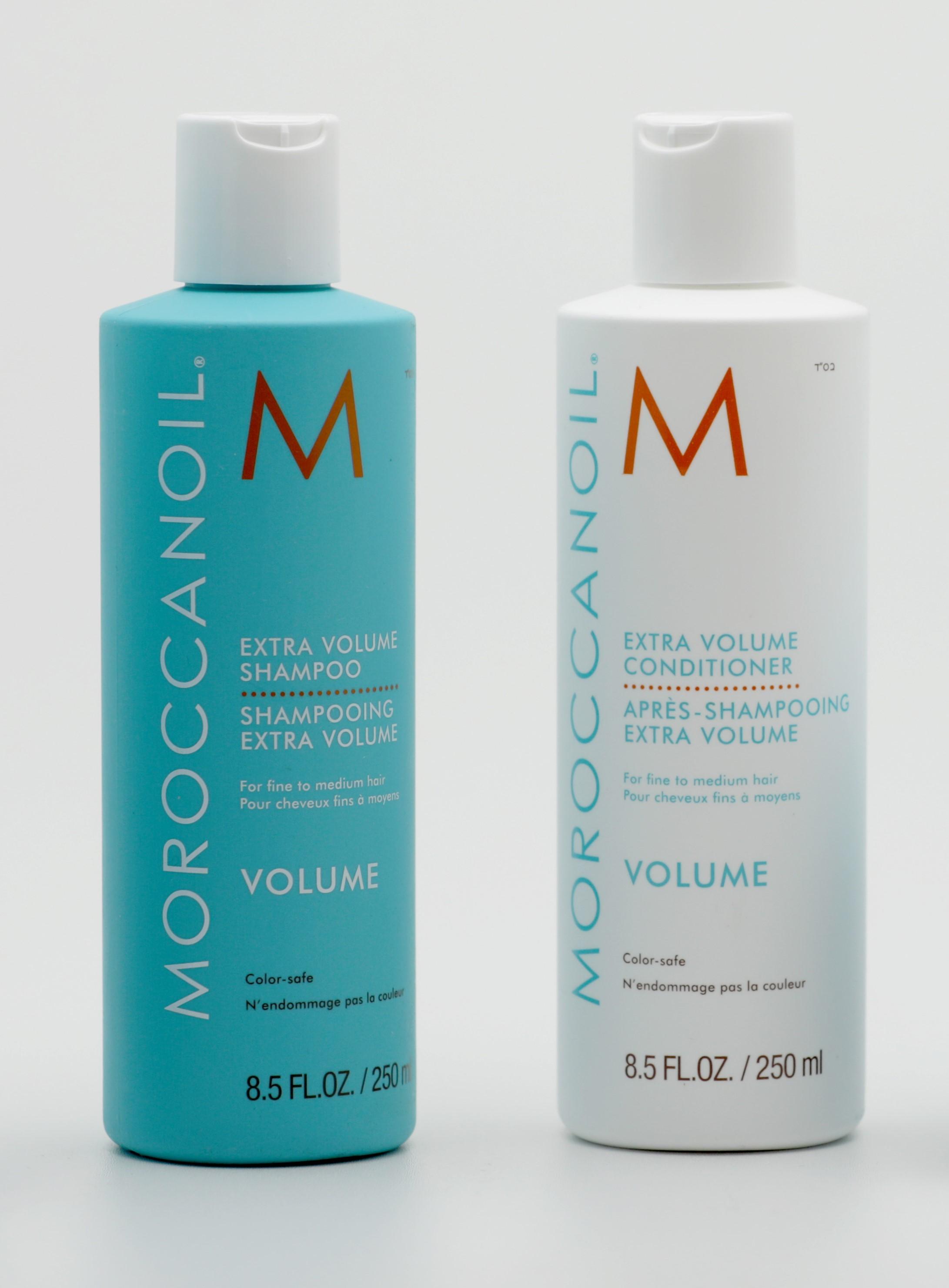 Shampooing et après shampooing cheveux fins