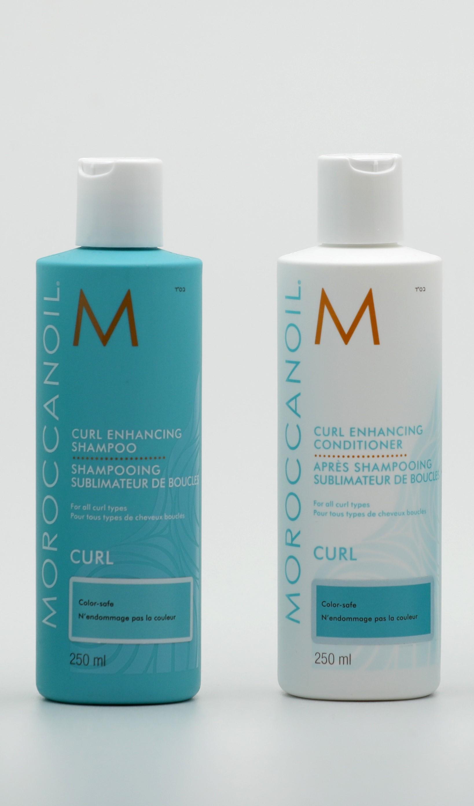 Shampooing et après shampooing cheveux bouclés