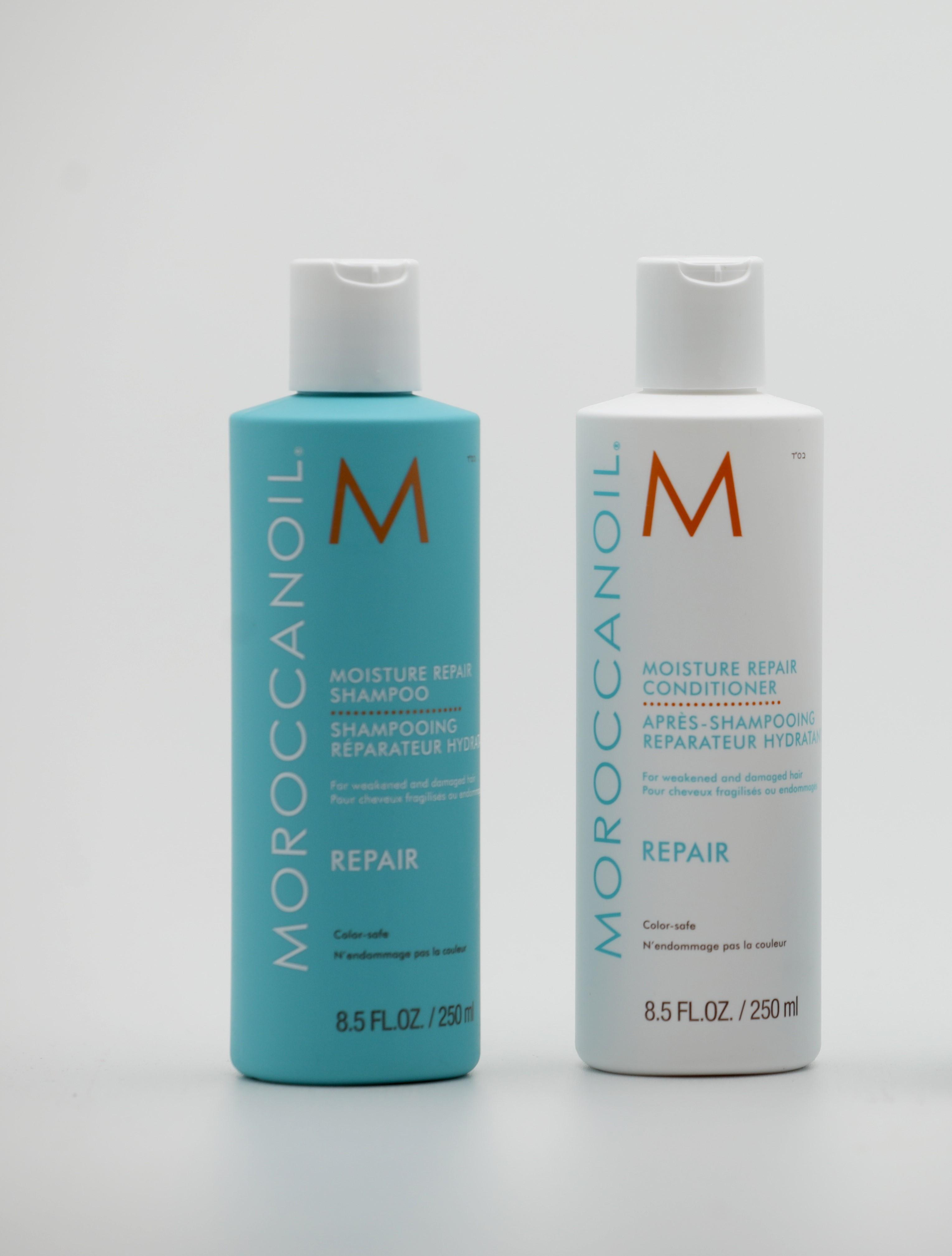 shampoing et après shampoing repair