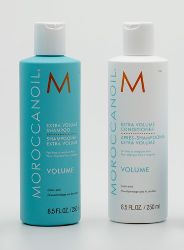 DUO extra volume shampooing et après shampooing